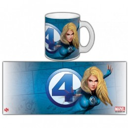 FANTASTIC FOUR INVISIBLE WOMAN MUG TAZZA IN CERAMICA SEMIC