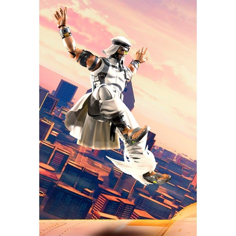 STREET FIGHTER 5 RASHID S.H. FIGUARTS ACTION FIGURE BANDAI