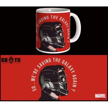 GUARDIANS OF THE GALAXY VOL.2 STAR-LORD MUG TAZZA IN CERAMICA