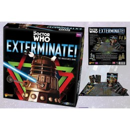 DOCTOR WHO EXTERMINATE! THE MINIATURE GAME INGLESE ENGLISH