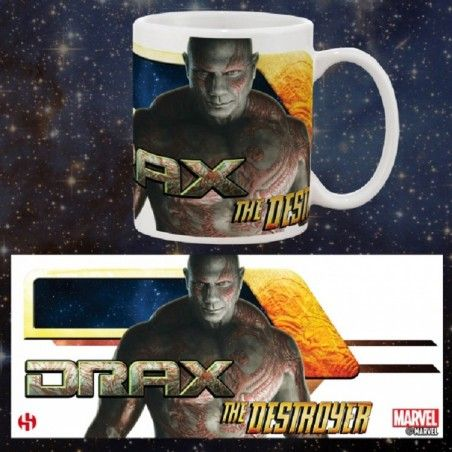 GUARDIANS OF THE GALAXY VOL.2 DRAX MUG TAZZA IN CERAMICA