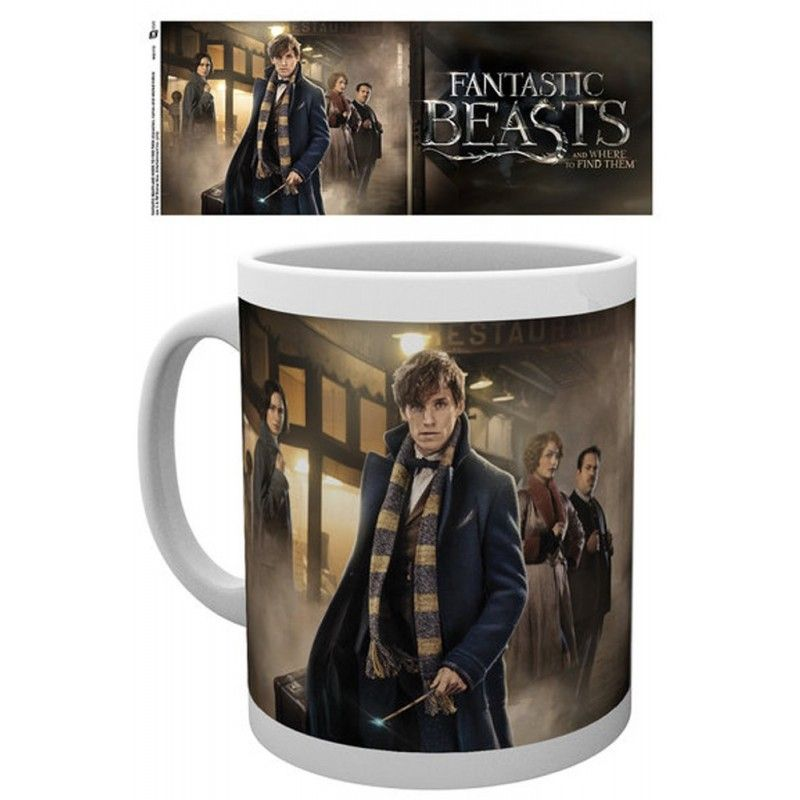 HARRY POTTER FANTASTIC BEASTS MUG TAZZA IN CERAMICA GB EYE