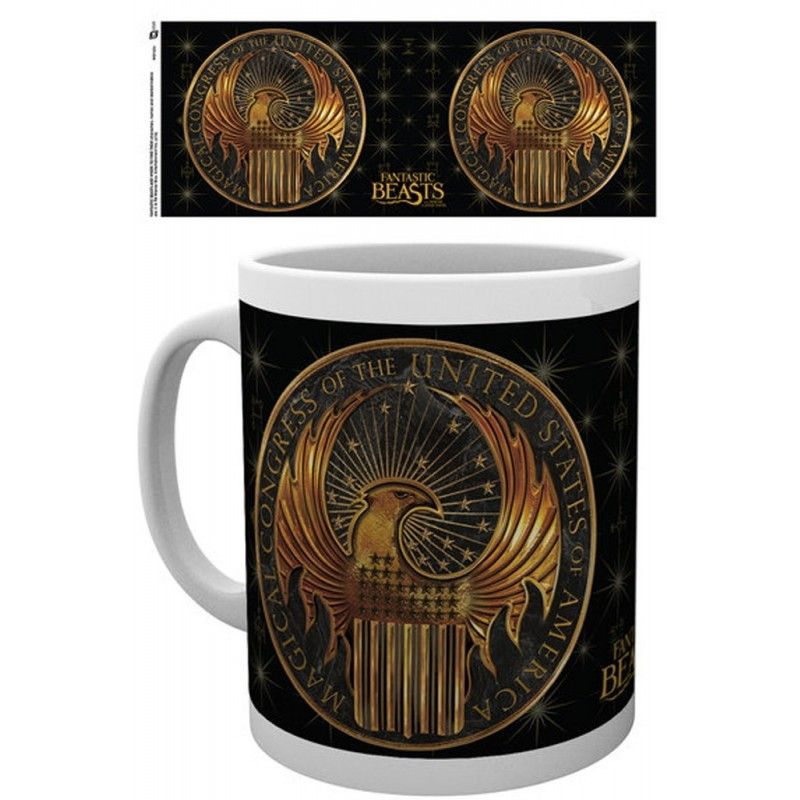 GB EYE HARRY POTTER FANTASTIC BEASTS MACULA MUG TAZZA IN CERAMICA