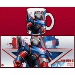 SEMIC IRON MAN 3 IRON PATRIOT MUG TAZZA IN CERAMICA
