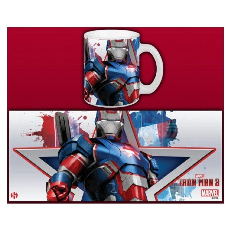 IRON MAN 3 IRON PATRIOT MUG TAZZA IN CERAMICA SEMIC