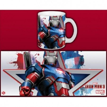 IRON MAN 3 IRON PATRIOT MUG TAZZA IN CERAMICA