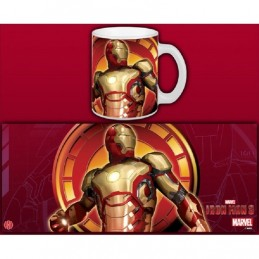 SEMIC IRON MAN 3 MARK 42 MUG TAZZA IN CERAMICA
