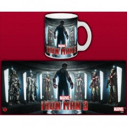 IRON MAN 3 TONY STARK MUG TAZZA IN CERAMICA SEMIC