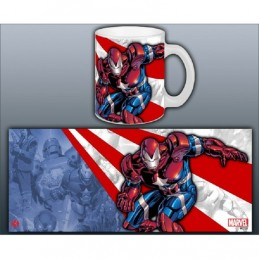 IRON MAN IRON PATRIOT MUG TAZZA IN CERAMICA SEMIC
