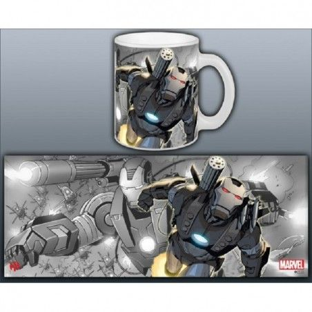 IRON MAN WAR MACHINE MUG TAZZA IN CERAMICA