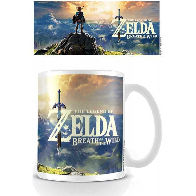 PYRAMID INTERNATIONAL ZELDA BREATH OF THE WILD MUG TAZZA IN CERAMICA
