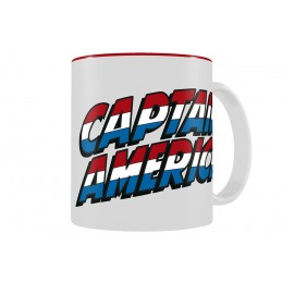 CAPTAIN AMERICA LOGO MUG TAZZA IN CERAMICA SD TOYS