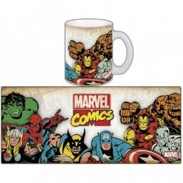 MARVEL COMICS CLASSIC MUG TAZZA IN CERAMICA SEMIC