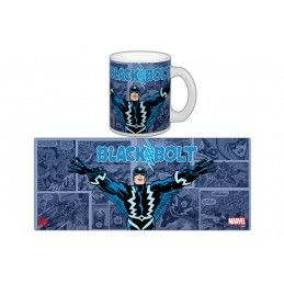BLACK BOLT FRECCIA NERA MUG TAZZA IN CERAMICA SEMIC