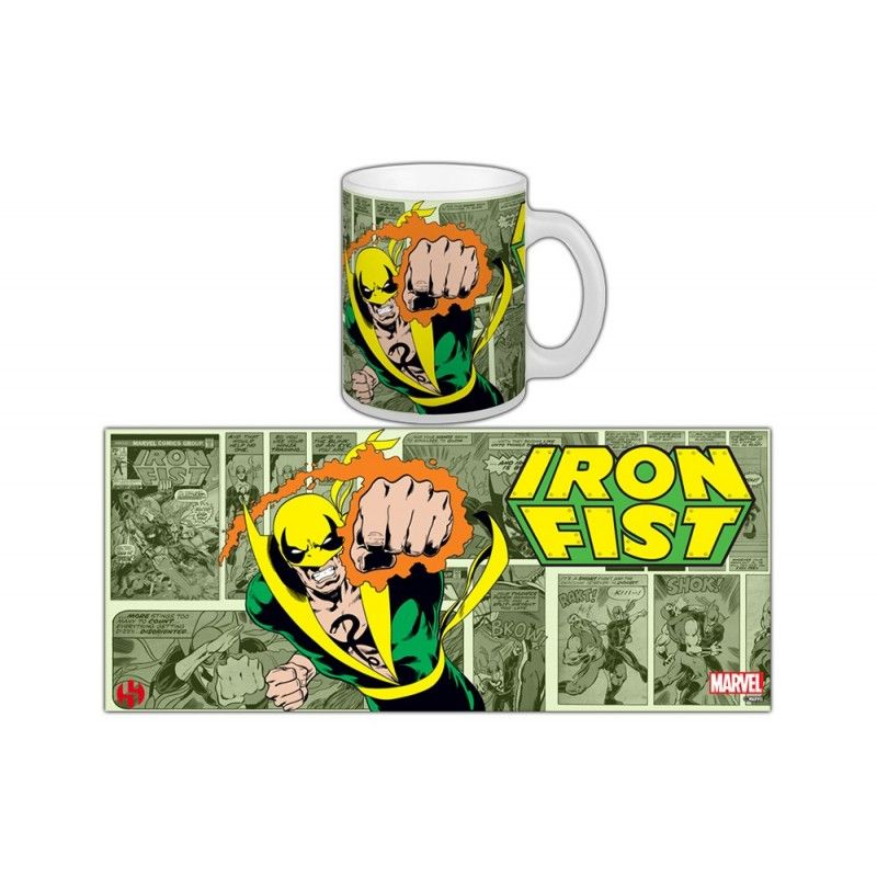 IRON FIST CLASSIC MUG TAZZA IN CERAMICA SEMIC