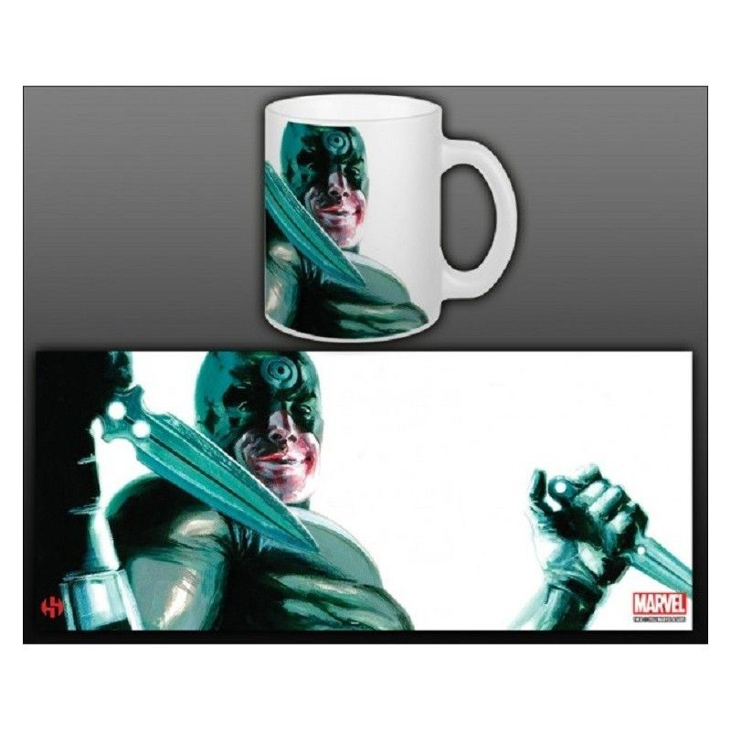 SEMIC DAREDEVIL BULLSEYE MUG TAZZA IN CERAMICA