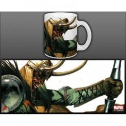 MARVEL VILLAINS THOR LOKI MUG TAZZA IN CERAMICA SEMIC