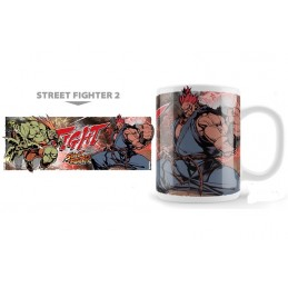 STREET FIGHTER 2 BLANKA VS AKUMA MUG TAZZA IN CERAMICA NEKOWEAR