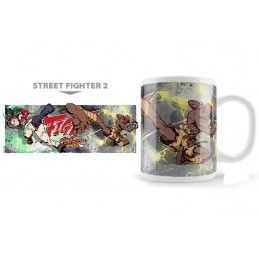 NEKOWEAR STREET FIGHTER 2 CAMMY VS DALSHIM MUG TAZZA IN CERAMICA