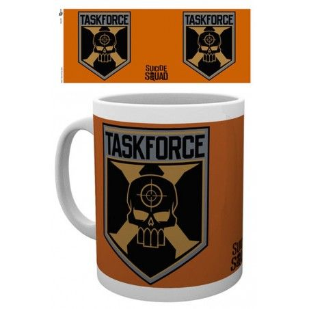 SUICIDE SQUAD TASK FORCE MUG TAZZA IN CERAMICA