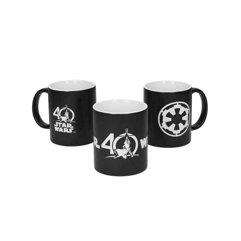 SD TOYS STAR WARS ANNIVERSARY LIMITED EDITION 3X MUG TAZZA IN CERAMICA