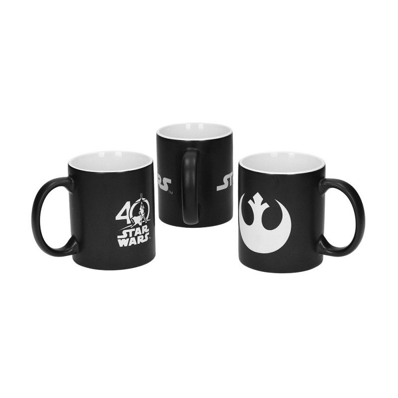 STAR WARS ANNIVERSARY LIMITED EDITION 3X MUG TAZZA IN CERAMICA SD TOYS