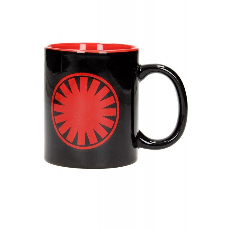 SD TOYS STAR WARS FIRST ORDER LOGO MUG TAZZA IN CERAMICA