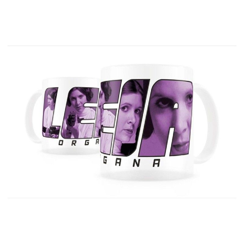 SD TOYS STAR WARS PRINCESS LEIA THERMAL MUG TAZZA IN CERAMICA
