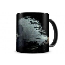 STAR WARS DEATH STAR MORTE NERA MUG TAZZA IN CERAMICA SD TOYS