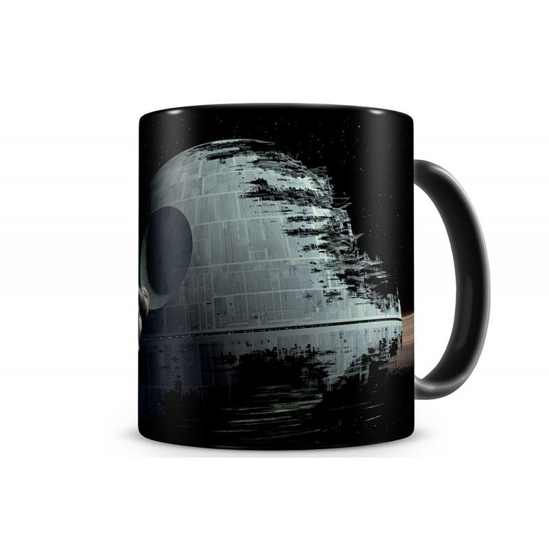 SD TOYS STAR WARS DEATH STAR MORTE NERA MUG TAZZA IN CERAMICA