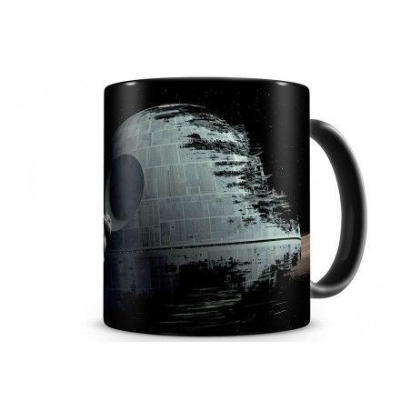 STAR WARS DEATH STAR MORTE NERA MUG TAZZA IN CERAMICA