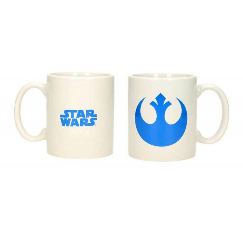 STAR WARS REBELS LOGO MUG TAZZA IN CERAMICA SD TOYS