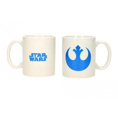 STAR WARS REBELS LOGO MUG TAZZA IN CERAMICA