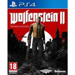 WOLFENSTEIN 2 THE NEW COLOSSUS PS4 PLAYSTATION 4 NUOVO ITALIANO