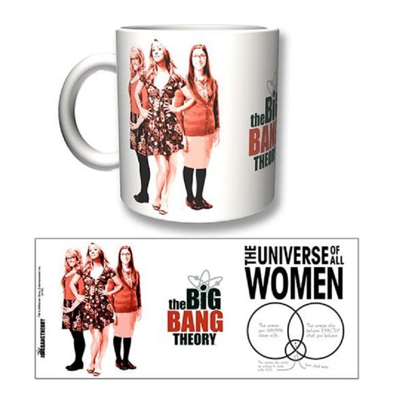THE BIG BANG THEORY WOMEN MUG TAZZA IN CERAMICA 2BNERD