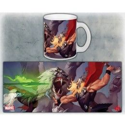 THOR VS MALEKITH MUG TAZZA IN CERAMICA SEMIC