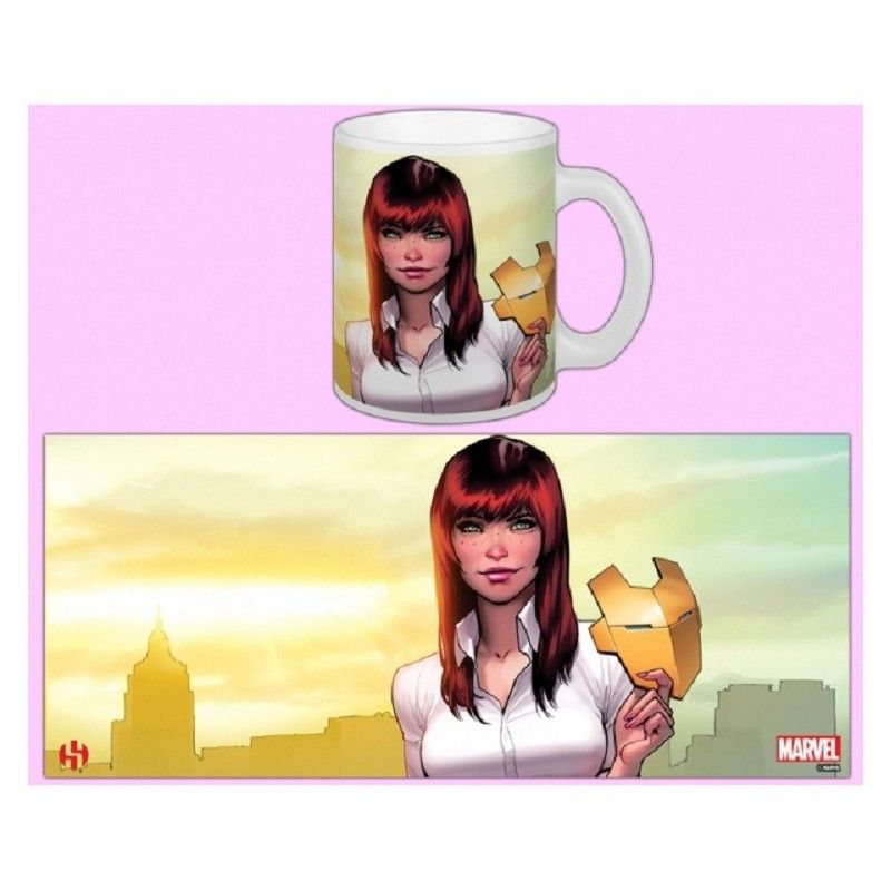 SEMIC WOMEN OF MARVEL MARY JANE MUG TAZZA IN CERAMICA