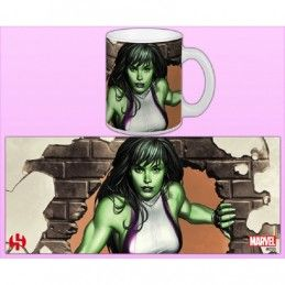 WOMEN OF MARVEL SHE-HULK MUG TAZZA IN CERAMICA SEMIC