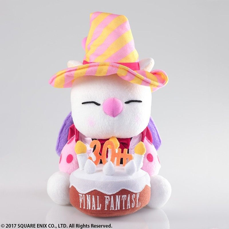 FINAL FANTASY 30TH ANNIVERSARY PELUCHES MOOGLE 20CM PLUSH FIGURE SQUARE ENIX