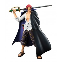 ONE PIECE SHANKS VARIABLE ACTION HEROES ACTION FIGURE MEGAHOUSE