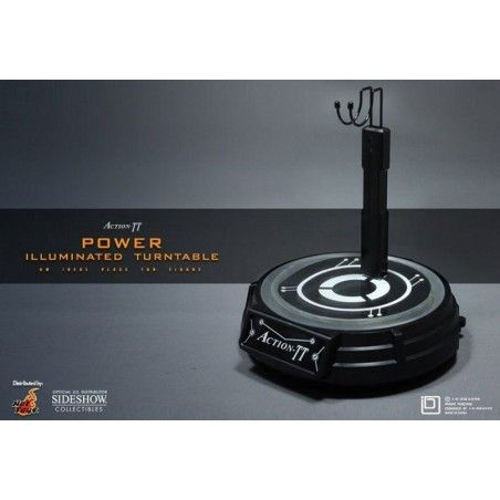 ACTION TT POWER ILLUMINATED TURNTABLE STAND MOBILE ILLUMINATO PER FIGURE