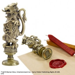 HARRY POTTER GRYFFINDOR WAX SEAL SIGILLO PER CERA NOBLE COLLECTIONS