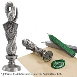 HARRY POTTER SLYTHERIN WAX SEAL SIGILLO PER CERA NOBLE COLLECTIONS