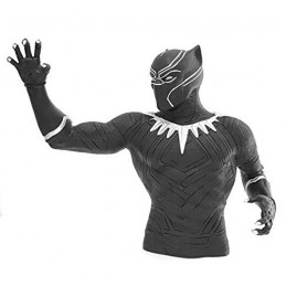 BLACK PANTHER PANTERA NERA BUST BANK SALVADANAIO