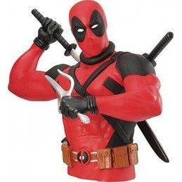 MONOGRAM MARVEL NEW DEADPOOL BUST BANK SALVADANAIO FIGURE