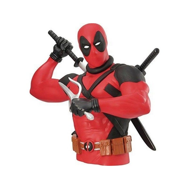 DEADPOOL BUST BANK SALVADANAIO FIGURE