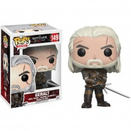 FUNKO POP! THE WITCHER - GERALT OF RIVA BOBBLE HEAD KNOCKER FIGURE