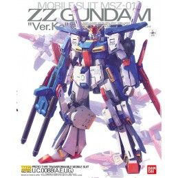 BANDAI MASTER GRADE MG GUNDAM ZZ VER KA 1/100 MODEL KIT FIGURE