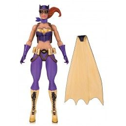 DC COLLECTIBLES DC DESIGNERS SERIES ANT LUCIA - BOMBSHELLS BATGIRL ACTION FIGURE