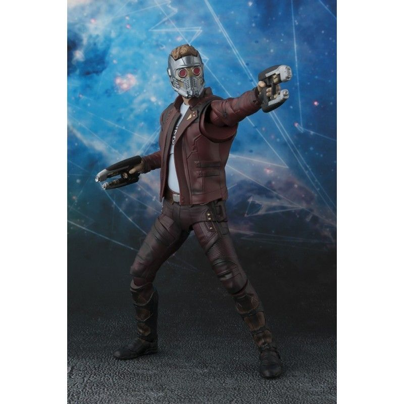 GUARDIANS OF THE GALAXY VOL.2 STAR LORD S.H. FIGUARTS ACTION FIGURE BANDAI